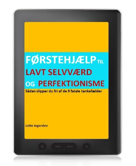 Førstehjælp til lavt selvværd og perfektionisme